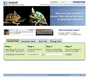 Zamzar: The Online File Converter - 7labs