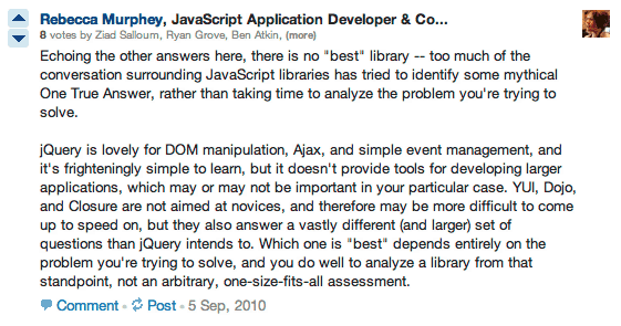 Quora with Spectacles