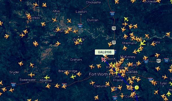 Get real-time flight information using Live flight tracker