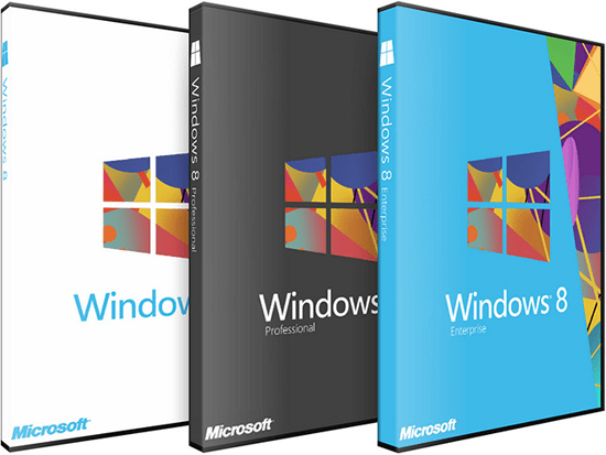 Difference between Windows 8, Windows 8 Pro, Windows RT and Windows 8 Enterprise