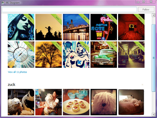 Follow and download Instagram photos without an instagram