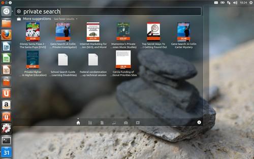 Ubuntu 12.10 interface