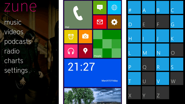 Windows Phone looks on Android