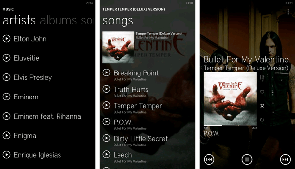 Zune for Android