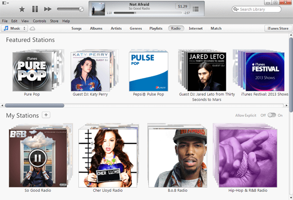 How to access iTunes Radio on PC
