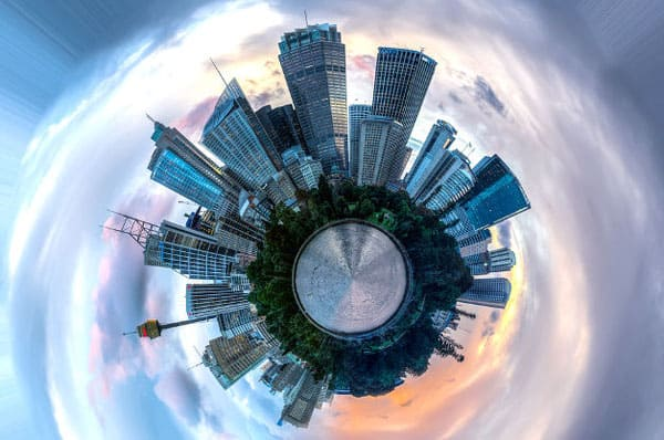 Tiny Planet for iOS