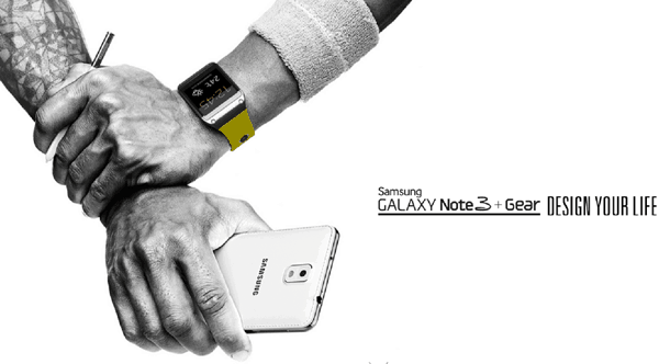 Samsung GALAXY Note3+Gear - Design your life
