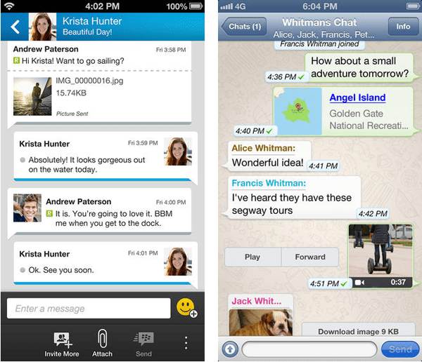 Blackberry messengerbbm vs whatsapp reheart Choice Image