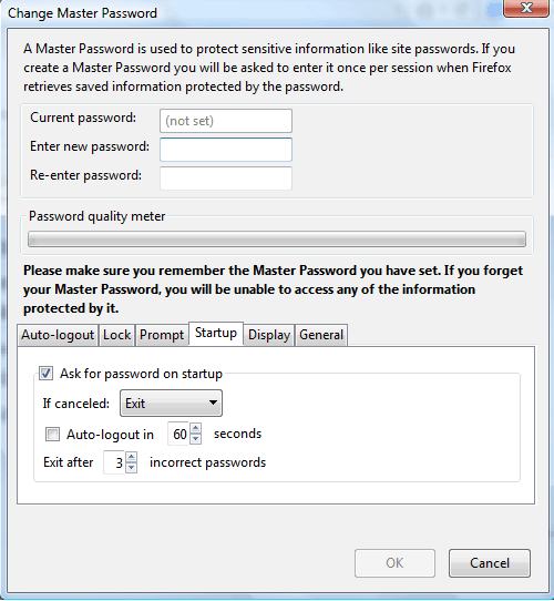 Lock Browser (Google Chrome, Mozilla Firefox) with Password