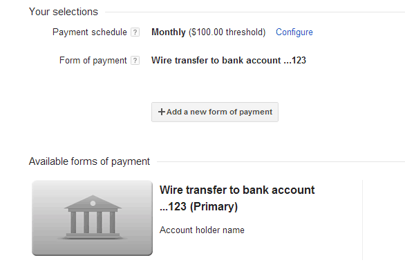 FAQ - Wire Transfers for Indian AdSense Publishers