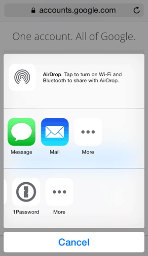 iOS 8 Action Extension