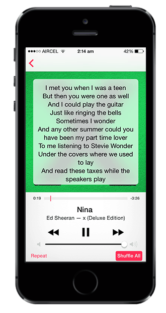 Embed lyrics to mp3 and view offline - Windows, Mac, iOS