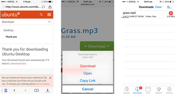 How to download files on iPhone, iPad and iPod touch