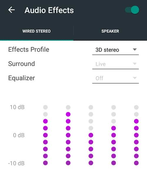 Custom Equalizer Settings on iOS, Android, Windows Phone