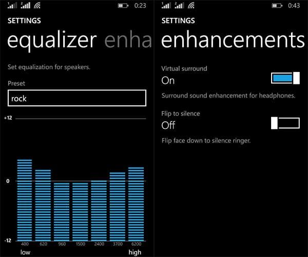 Custom Equalizer on Windows Phone