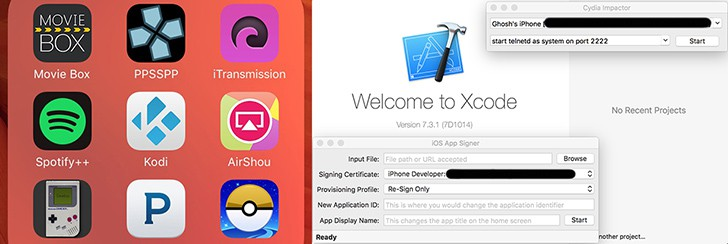 Install iOS apps from outside the App Store - No Jailbreak