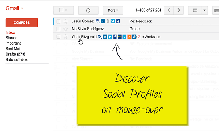 Find Social Media Profiles from email Address_700X420