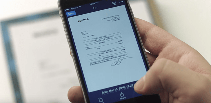 Best Scanner App For IPhone IPad IPod Touch - Invoice scanning app
