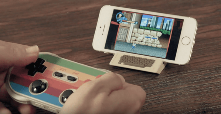 Play NES, SNES games on iOS and Android with NES Controller