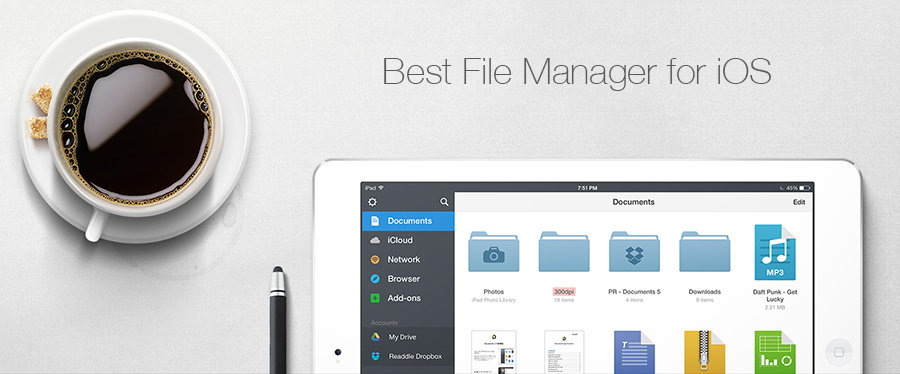 Best File Manager Apps for iOS - iPhone, iPad