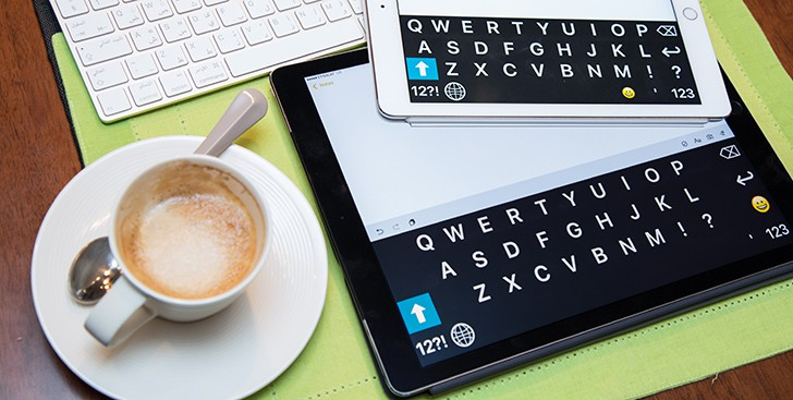 Big iOS Keyboard - iPhone, iPad