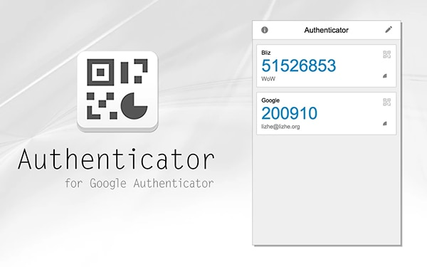 Google Authenticator for Chrome