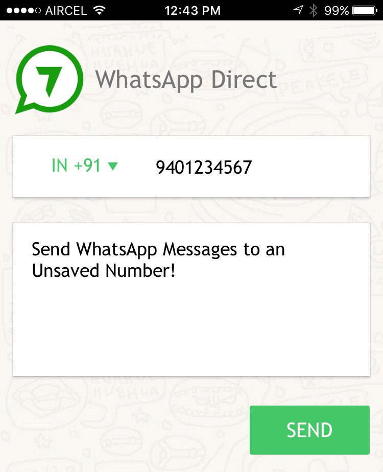 Whatsapp api ios