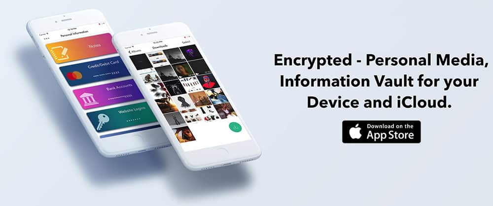 Encrypt and Lock Photos, Videos and Files on iOS - iPhone, iPad, iPod Touch