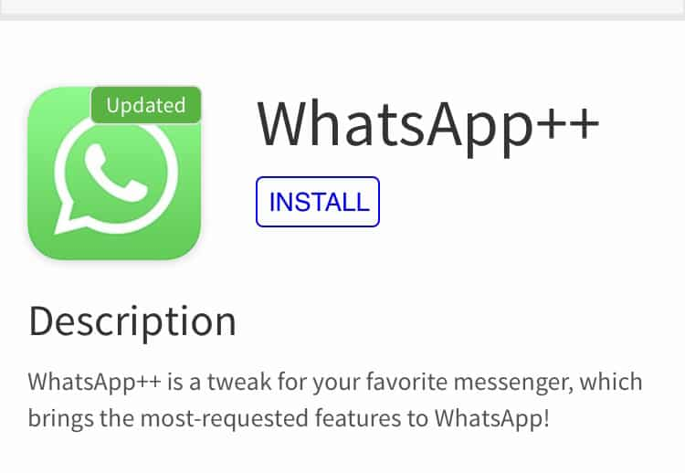 Install WhatsApp++, WhatsPad++ on iPhone or iPad without