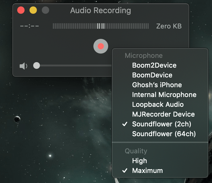 How to record system audio on Mac and iPhone