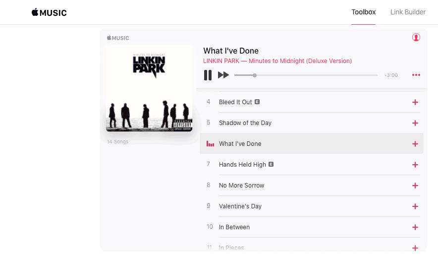 Access Apple Music on the web via Toolbox