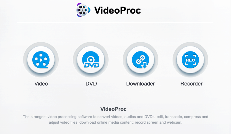 Download, Convert, Edit, Record Video with VideoProc on Mac