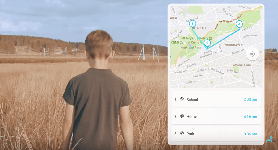 Track your kids' location (GPS Tracker for kids)